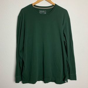 Eddie Bauer Legend Wash Long Sleeve Tee Shirt